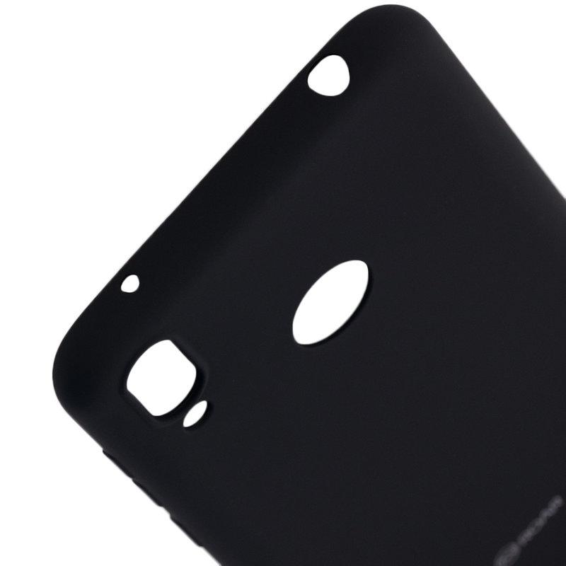 Husa Huawei Y7 2019 Roar Colorful Jelly Case - Negru Mat