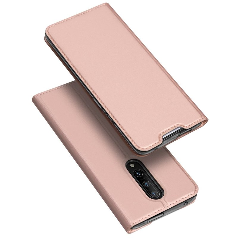 Husa OnePlus 7 Pro Dux Ducis Flip Stand Book - Roz