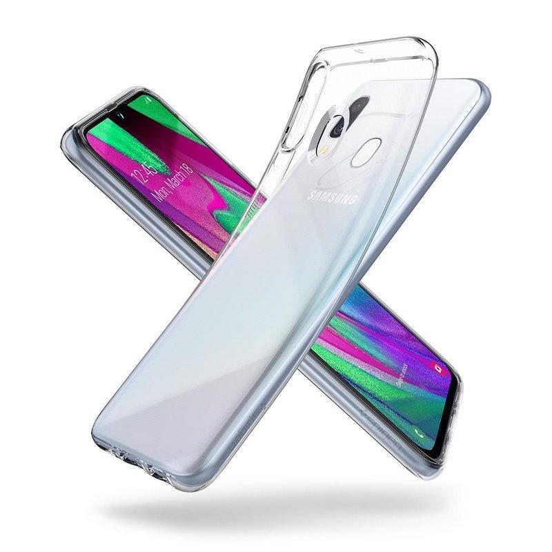 Bumper Samsung Galaxy A40 Spigen Liquid Crystal - Clear