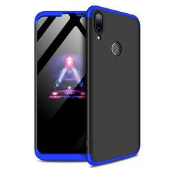 Husa Huawei Y7 2019 GKK 360 Full Cover Negru-Albastru
