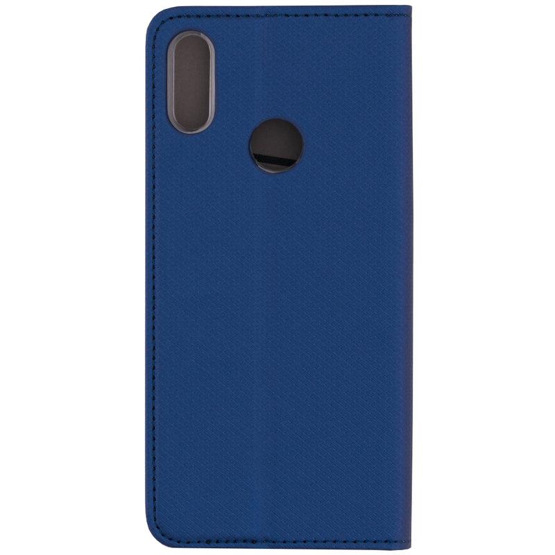 Husa Smart Book Xiaomi Redmi Note 7 Flip Albastru