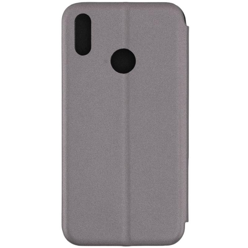 Husa Huawei Y7 2019 Flip Magnet Book Type - Grey