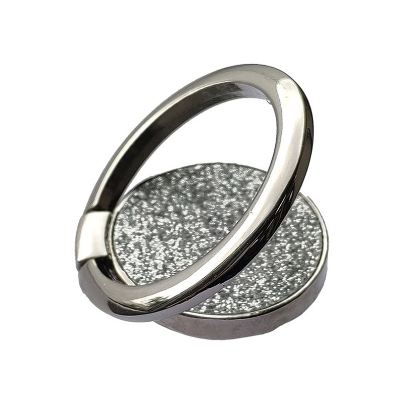 Suport Telefon/Tableta iRing Stand Glitter - Argintiu