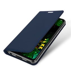 Husa LG G8 ThinQ Dux Ducis Flip Stand Book - Albastru