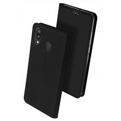 Husa Samsung Galaxy A40 Dux Ducis Flip Stand Book - Negru