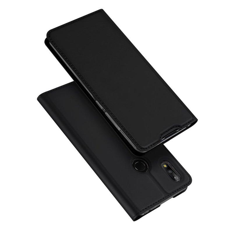 Husa Asus Zenfone Max Pro M2 ZB631KL Dux Ducis Flip Stand Book - Negru