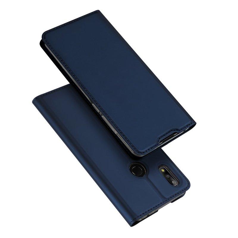Husa Asus Zenfone Max Pro M2 ZB631KL Dux Ducis Flip Stand Book - Albastru