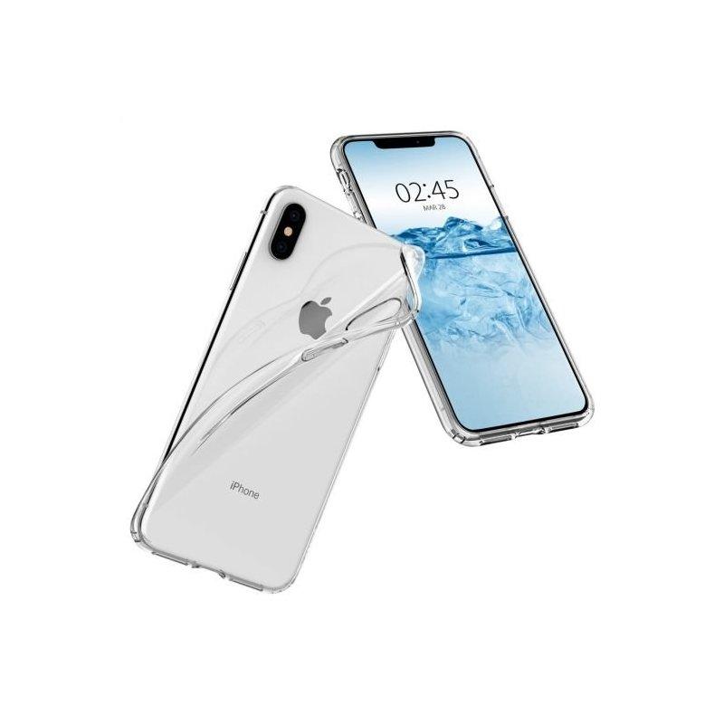 Bumper iPhone XS Max Spigen Liquid Crystal - Clear