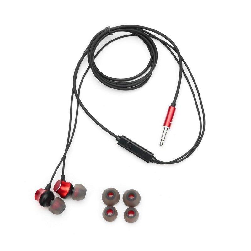 Casti In-Ear Cu Microfon Hoco M51 Proper Sound - Rosu