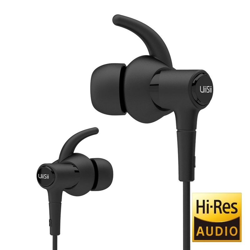 Casti In-Ear Cu Microfon UiiSii Hi-710 Premium Hi-Res Sound - Negru