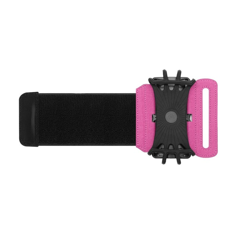 Husa Alergare Brat, Jogging Sport Wrist Case, Pentru Telefon, Unghi Ajustabil 180° - Roz