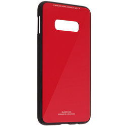Husa Samsung Galaxy S10e Glass Series - Rosu