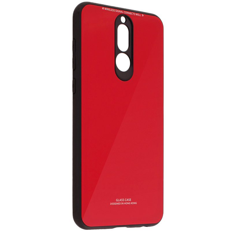 Husa Huawei Mate 10 Lite Glass Series - Rosu