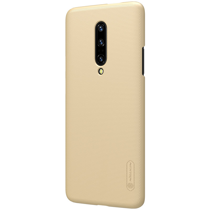 Husa OnePlus 7 Pro Nillkin Frosted Gold