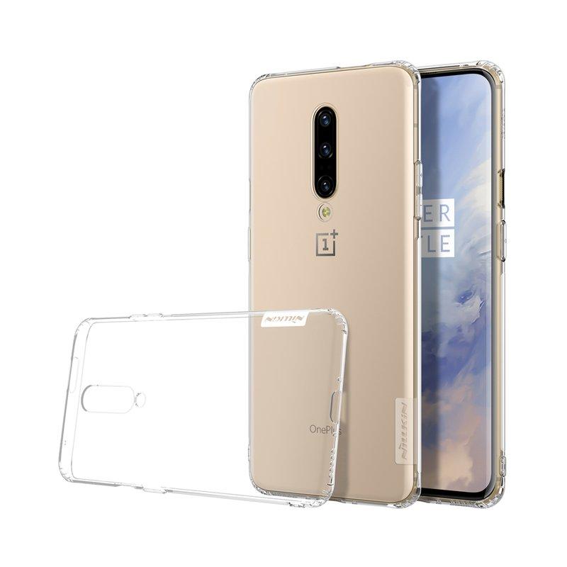 Husa OnePlus 7 Pro Nillkin Nature UltraSlim Transparent