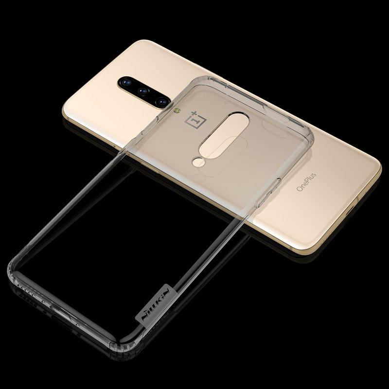 Husa OnePlus 7 Pro Nillkin Nature UltraSlim Fumuriu