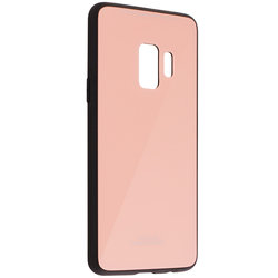 Husa Samsung Galaxy S9 Glass Series - Roz