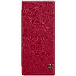 Husa Sony Xperia 1 Flip Nillkin QIN Rosu