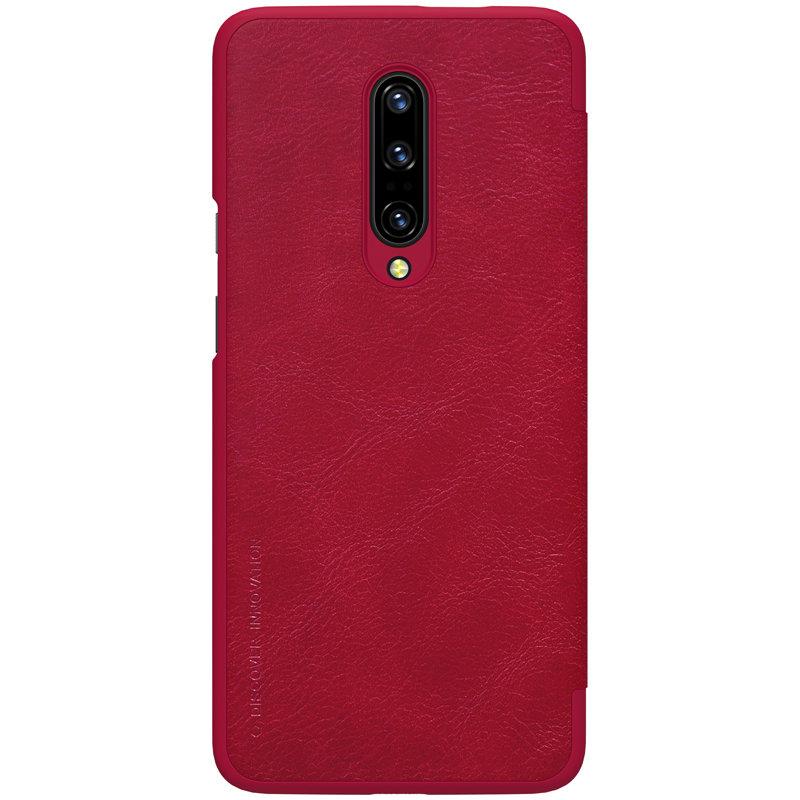 Husa OnePlus 7 Pro Flip Nillkin QIN Rosu