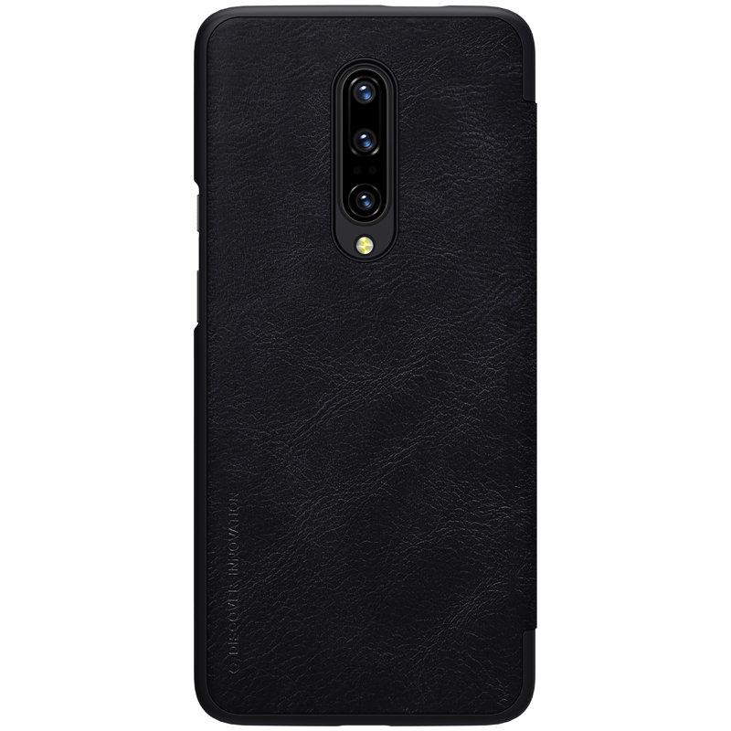 Husa OnePlus 7 Pro Flip Nillkin QIN Negru