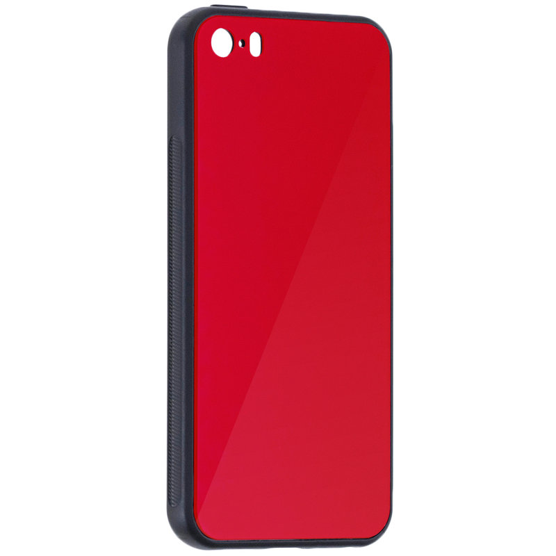 Husa iPhone 6 / 6S Glass Series - Rosu
