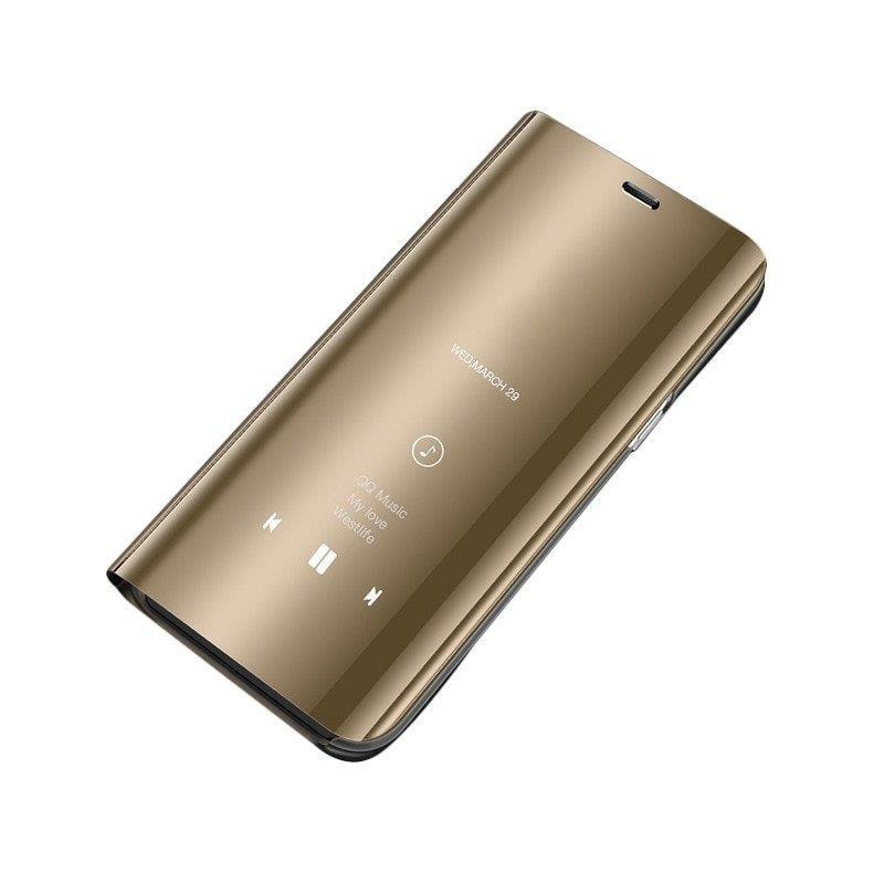 Husa Samsung Galaxy A40 Flip Standing Cover - Gold