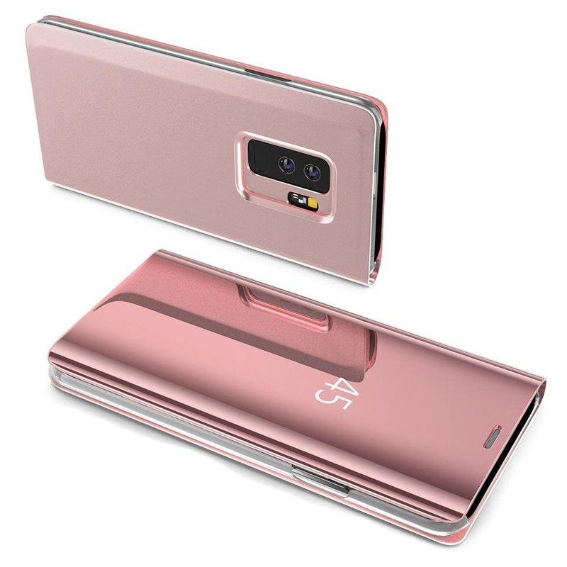 Husa Huawei Y7 2019 Flip Standing Cover - Pink