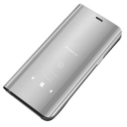 Husa Samsung Galaxy S9 Flip Standing Cover - Silver