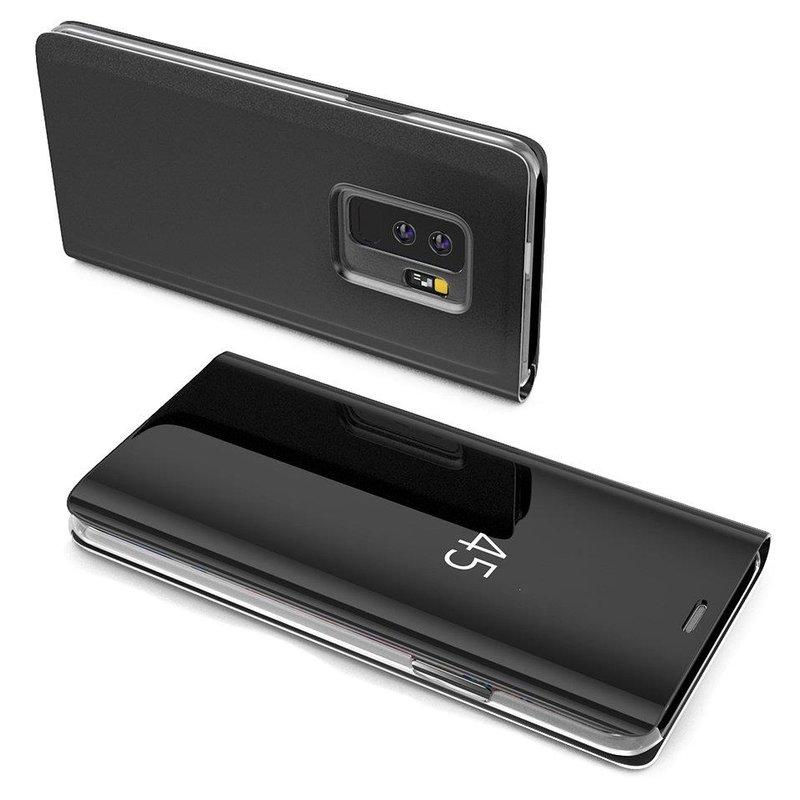 Husa Samsung Galaxy A8 2018 A530 Flip Standing Cover - Black