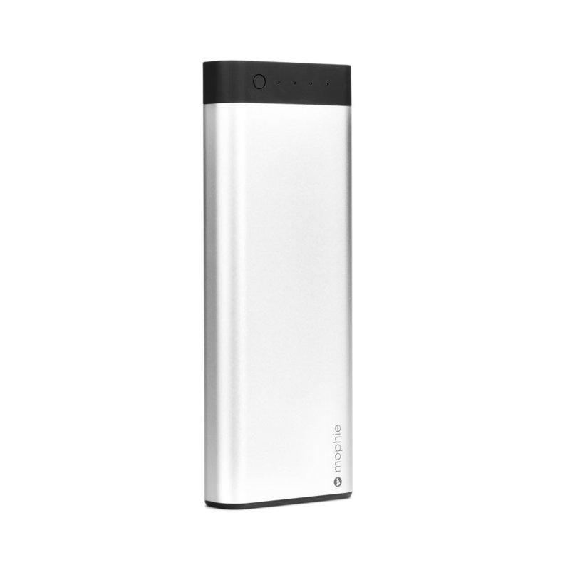 Acumulator extern 20000 mAh Mophie Quick Charge + Cablu Micro-usb - Alb