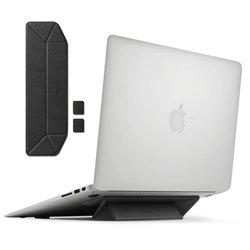 Suport Stand Pliabil Pentru Laptop, MacBook, NoteBook Ringke Autoadeziv - Negru