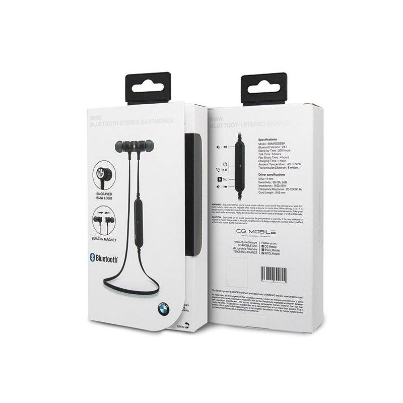 Casti De Telefon In-Ear Sport Bluetooth Cu Microfon BMW CGBTE03 - Negru