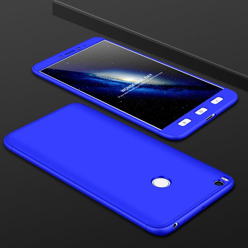 Husa Xiaomi Mi Max 2 GKK 360 Full Cover Albastru