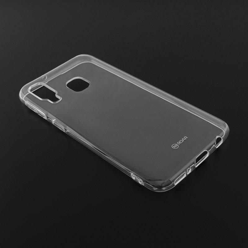 Husa Samsung Galaxy A40 Roar Colorful Jelly Case - Transparent Mat