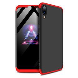 Husa Huawei Y7 Pro 2019 GKK 360 Full Cover Negru-Rosu
