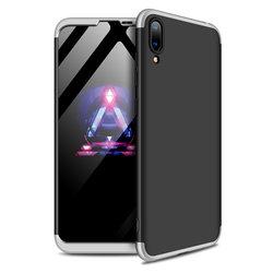 Husa Huawei Y7 Pro 2019 GKK 360 Full Cover Negru-Argintiu