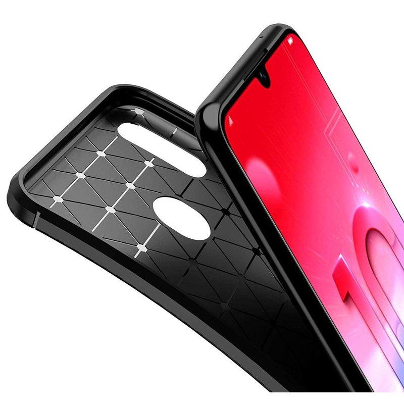 Husa Huawei Y6 2019 Mobster Carbon Skin Negru