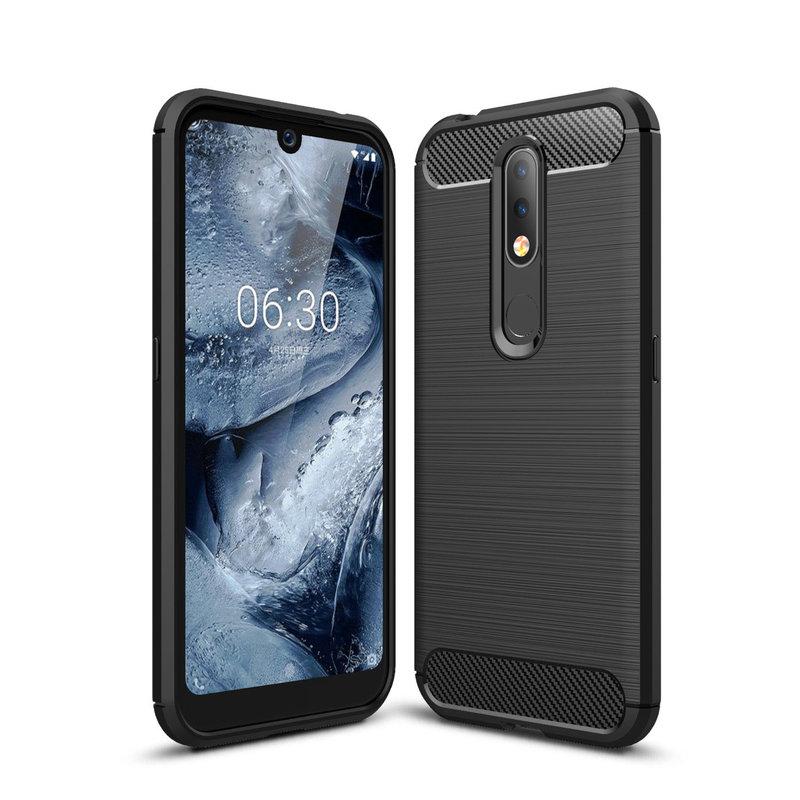 Husa Nokia 4.2 TPU Carbon Negru