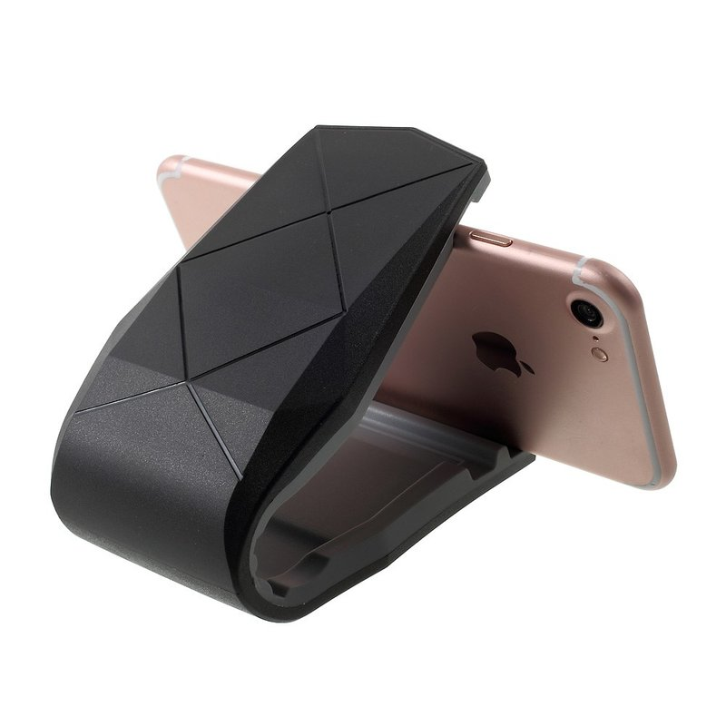 Suport Auto Telefon Universal Alligator Cu Deschidere De 6 Inch - Negru
