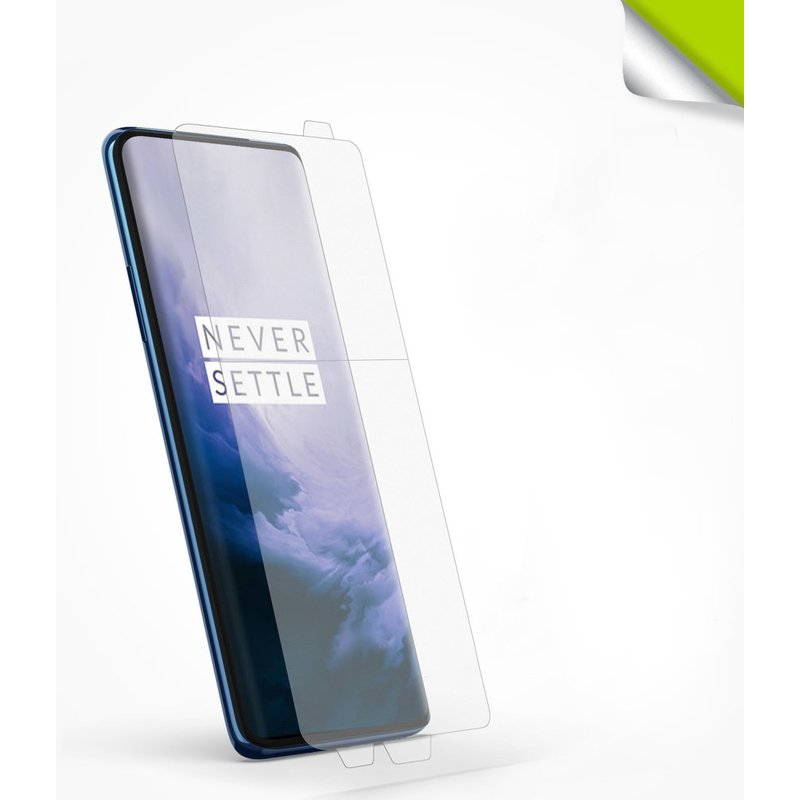 Folie Protectie FullCover OnePlus 7 Pro Ringke Dual Easy(2 Pack) - Clear