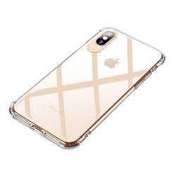 Husa iPhone X, iPhone 10 MSVII Ultraslim Airbag Cover - Transparent