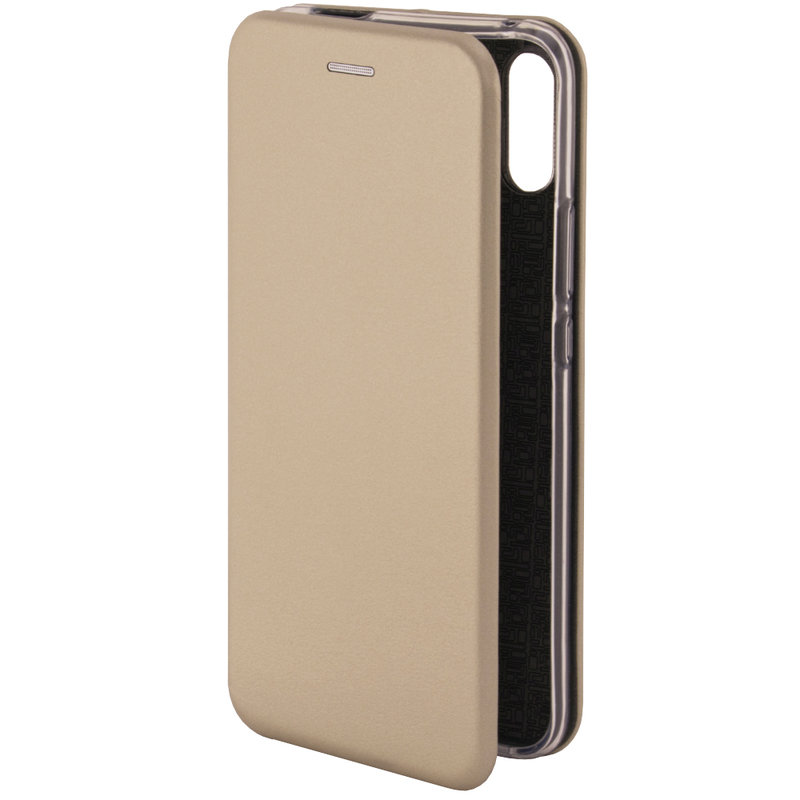 Husa Huawei P Smart Z Flip Magnet Book Type - Gold