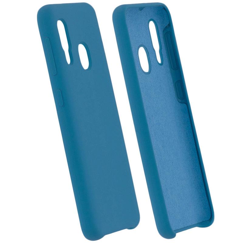Husa Samsung Galaxy A20e Silicon Soft Touch - Bleu