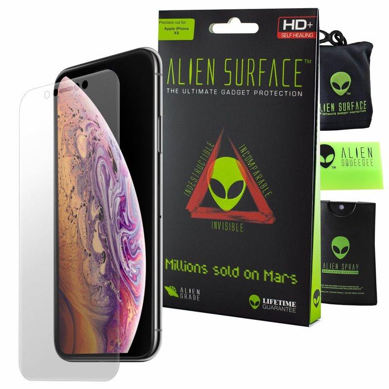 Folie Regenerabila iPhone XS Alien Surface XHD, Full Face - Clear