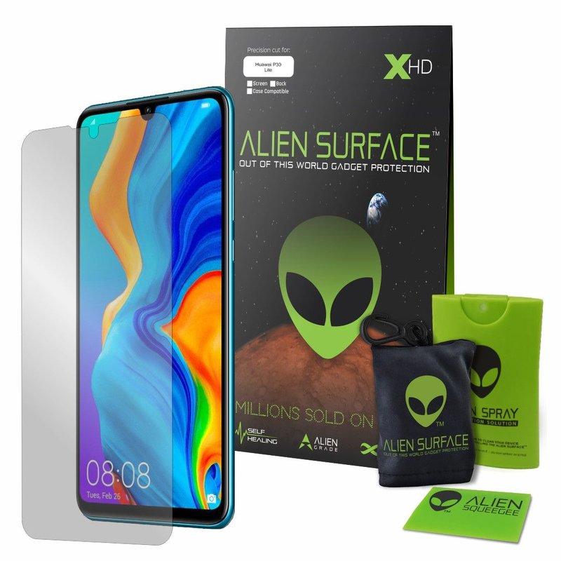 Folie Regenerabila Huawei P30 Lite Alien Surface XHD, Full Face - Clear