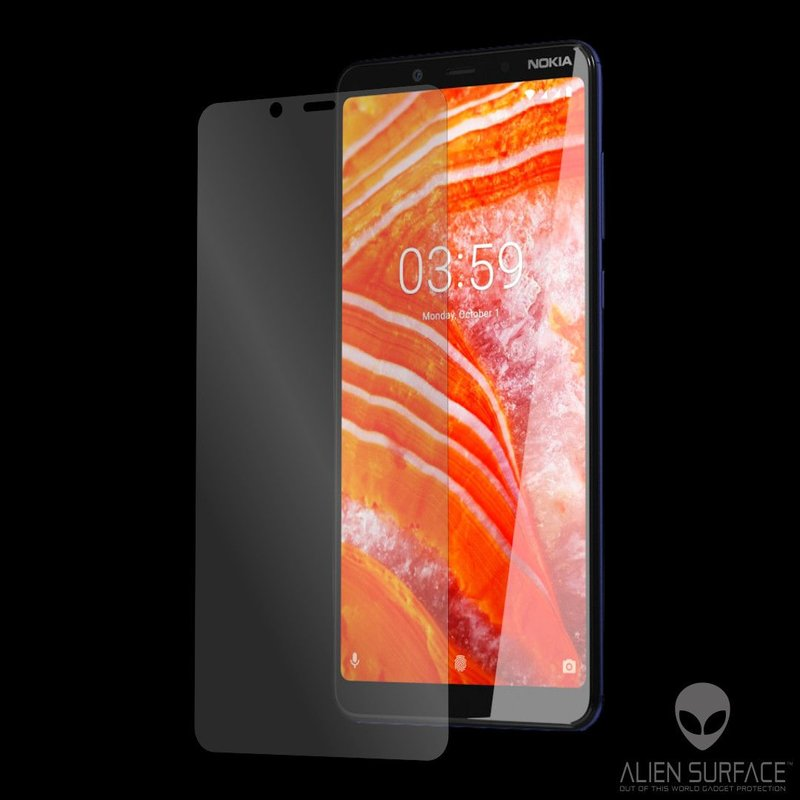 Folie Regenerabila Nokia 3.1 Plus 2018 Alien Surface XHD, Case Friendly - Clear