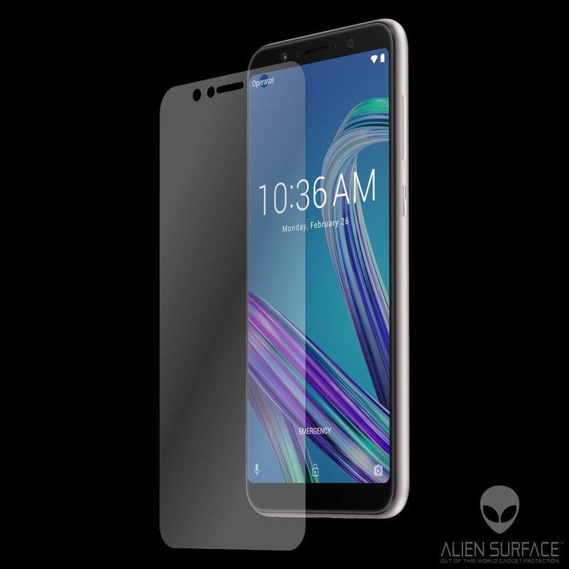 Folie Regenerabila Asus Zenfone Max Pro (M1) ZB601KL Alien Surface XHD, Case Friendly - Clear
