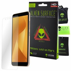 Folie Regenerabila Asus Zenfone Max Plus (M1) ZB570TL Alien Surface XHD, Full Face - Clear