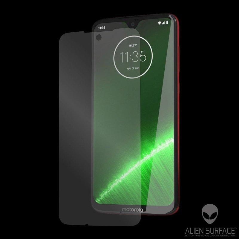 Folie Regenerabila Motorola Moto G7 Plus Alien Surface XHD, Case Friendly - Clear