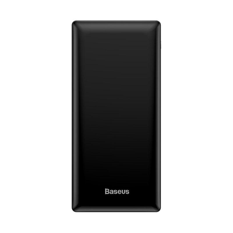 Baterie Externa 30000 mAh Baseus Mini JA Quick Charge (USB, USB-C, Lightning, MicroUSB) 15W - Negru
